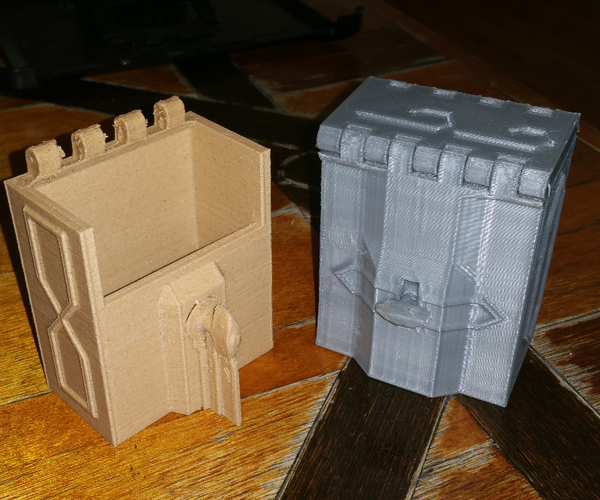 Better 3D Printing:  a Gaelic Box With All in One Twist Latch Using Minimal Support