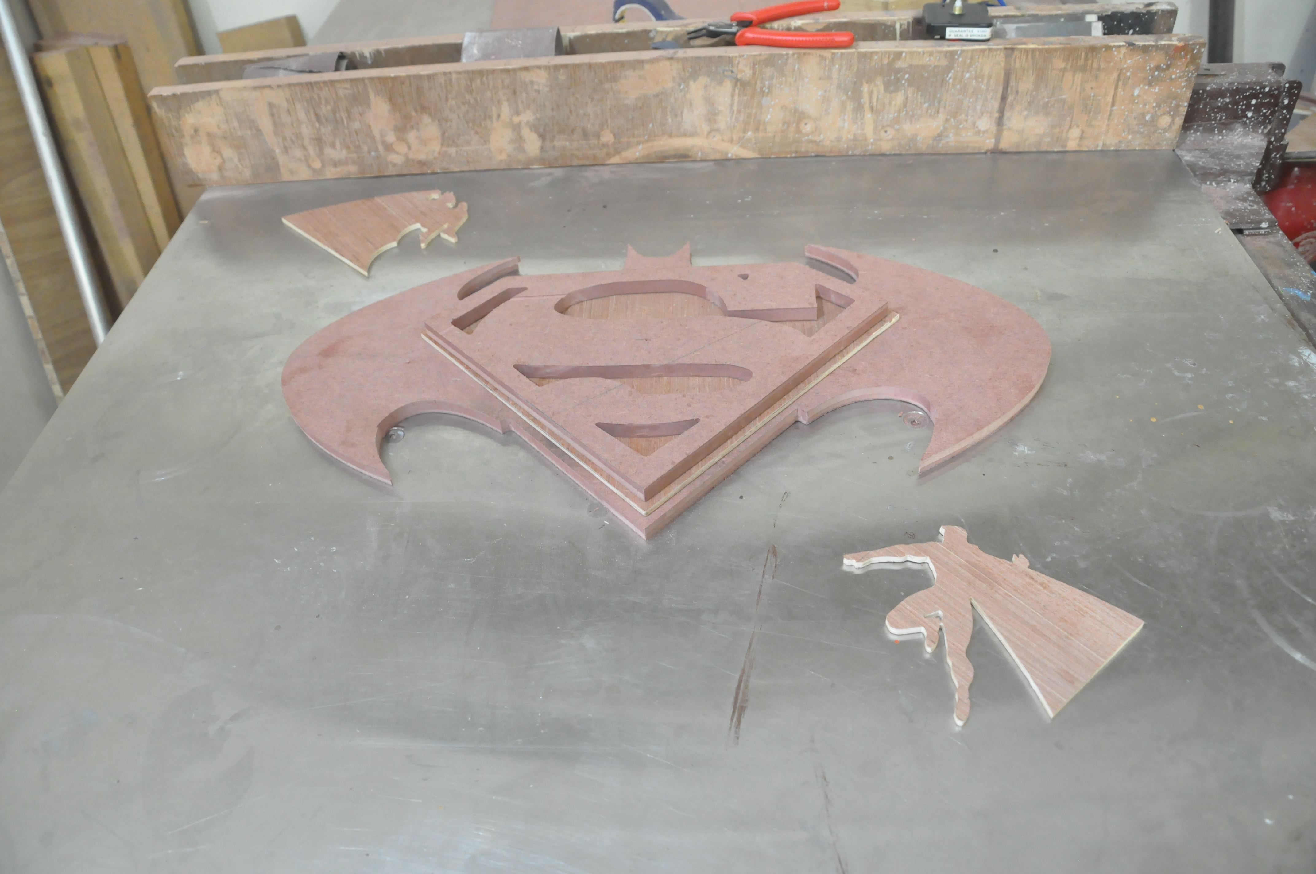 Picture of Cutting With Jigsaw, Cleaning of Edges and Sanding