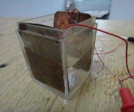 make a solar cell easily