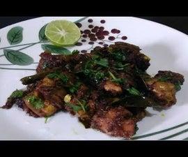 Chettinad Chicken Roast | Chettinad Chicken Fry