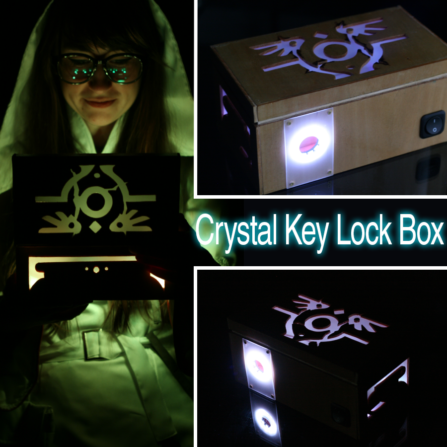 Picture of Crystal Key Lock Box