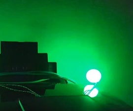 Simple Ambient RGB LEDs Lights With Visuino.