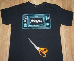 15-Minute Halter Top (T-shirt Hacks Contest)