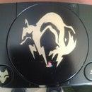 Mod-Custom Case PS One Metal Gear Solid FOX