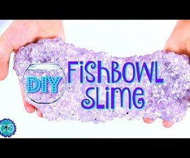 FISHBOWL SLIME - THE CRUNCHIEST SLIME! NO BORAX!