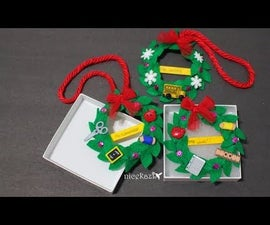 Mini Wreath Christmas Gift DIY