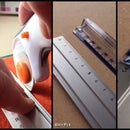 A Safer Rotary Cutter Edge Guide for Sewing