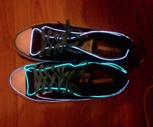 My Light Up Tron Shoes