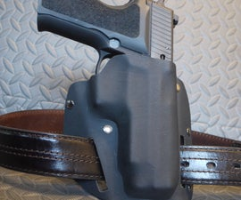 Leather/Kydex holster