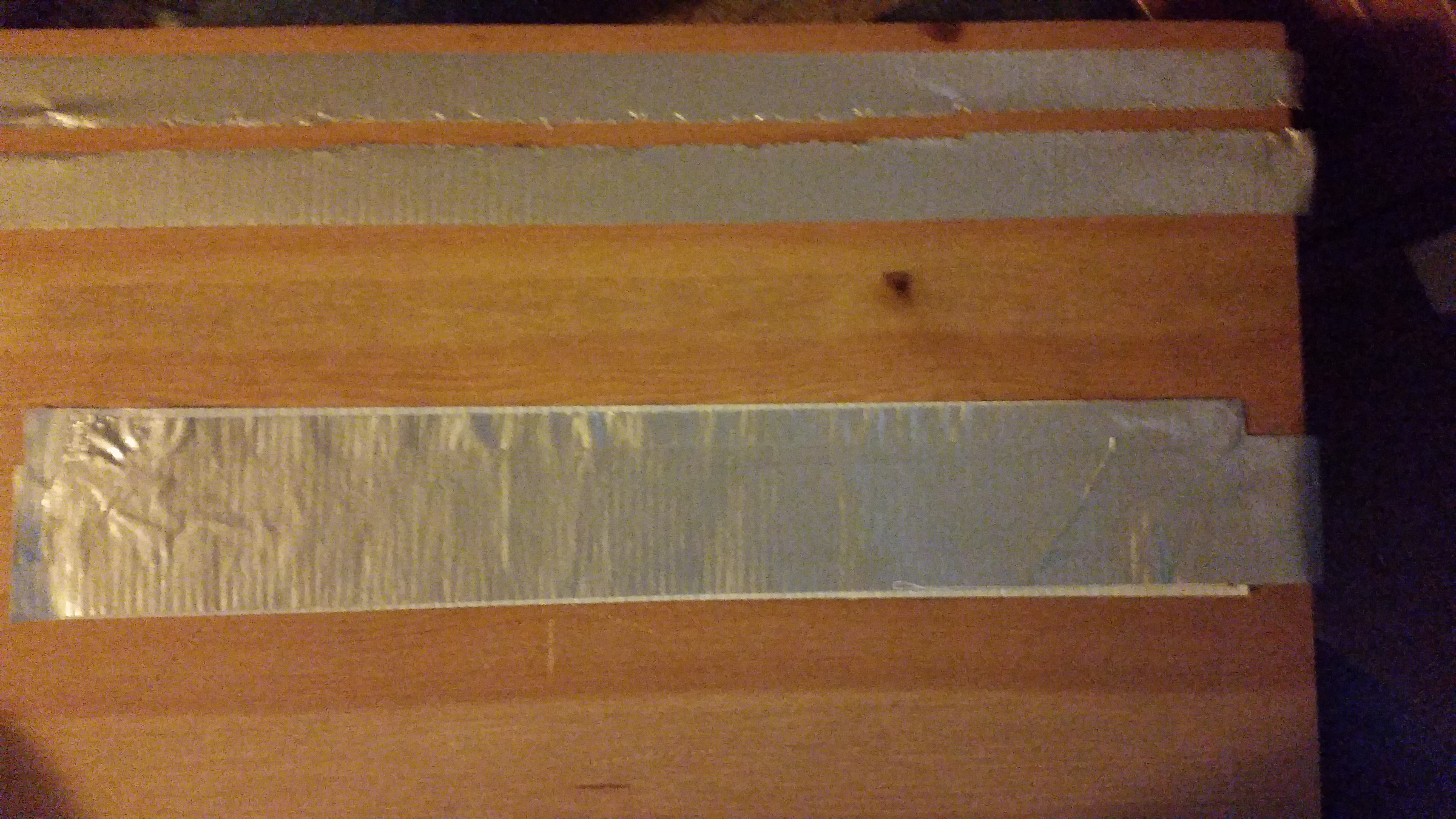 Picture of The Duct Tape Wallet, Making the Strip