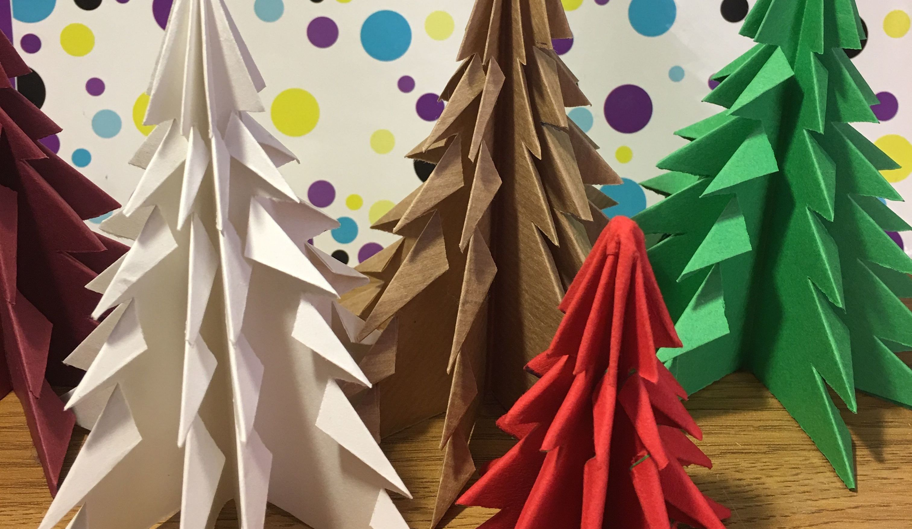 Christmas Origami.Easy Origami Christmas Tree 9 Steps With Pictures