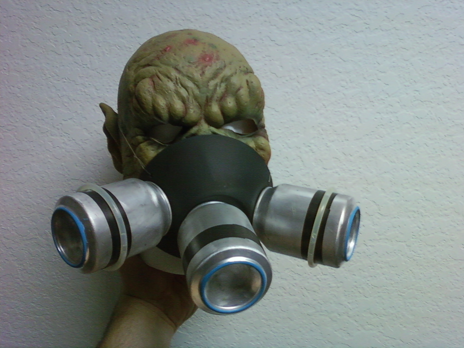Picture of Gas Mask and Ear Guard