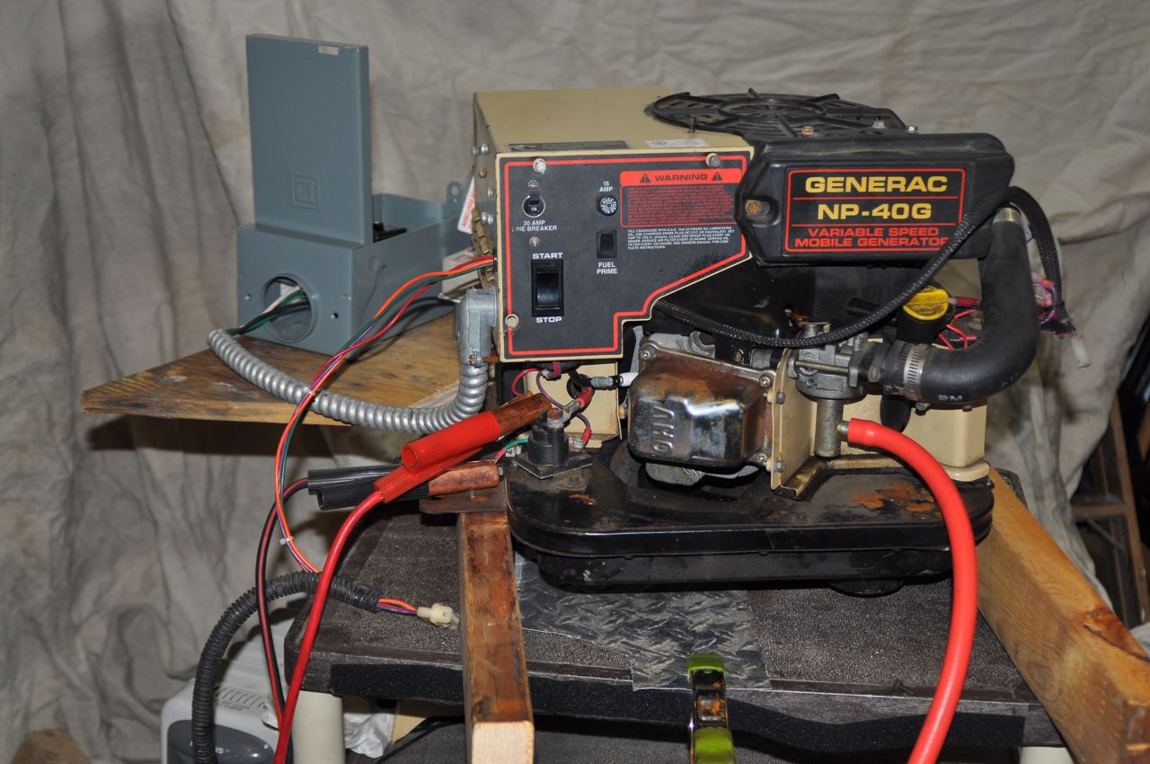 Picture of Circuit Breaker and Outlet