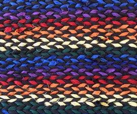 Twined Rainbow Rug