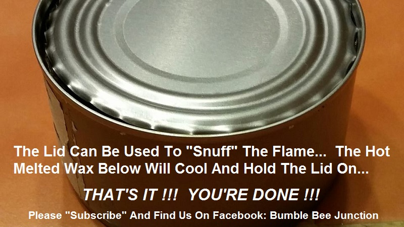 Picture of Snuffing Your Stove - the Lid...