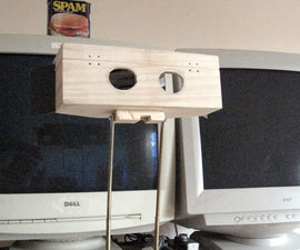 On screen stereo viewer