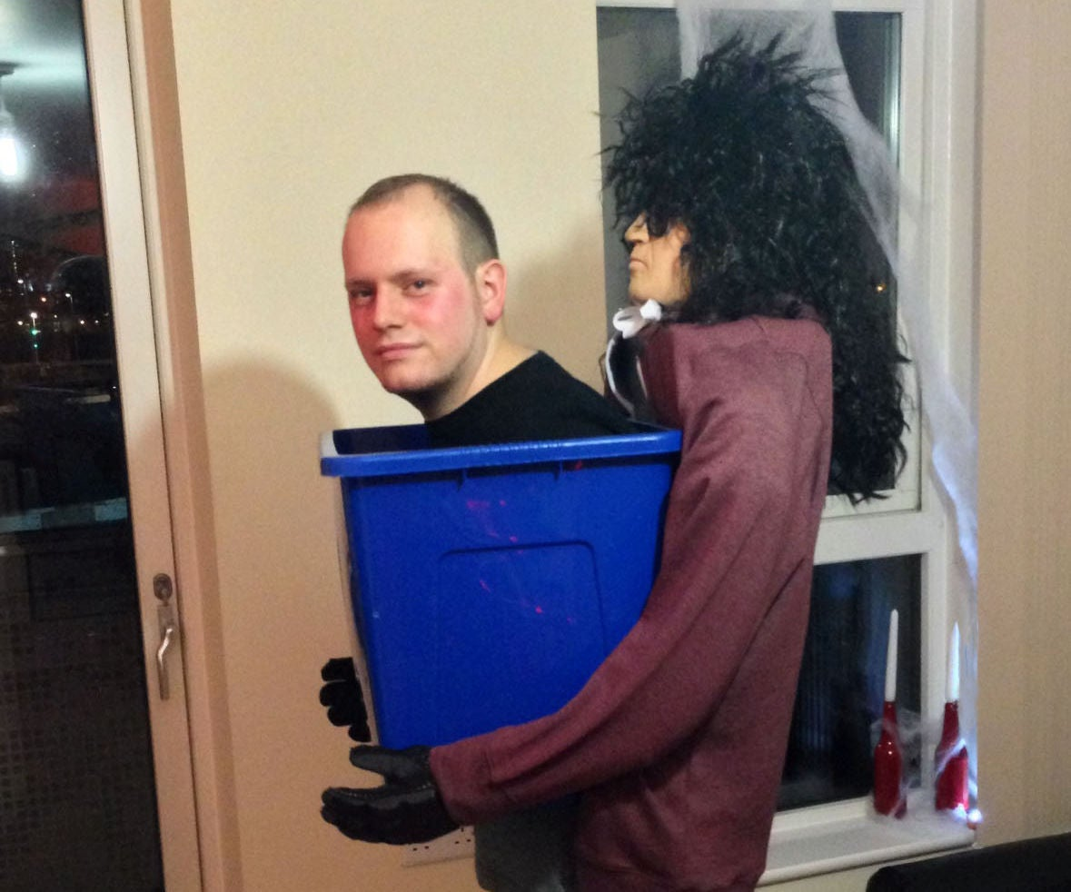 man in a box halloween costume: 6 steps (with pictures)