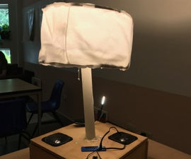 How to Make an Ambience, and Reading, Lamp With Speakers