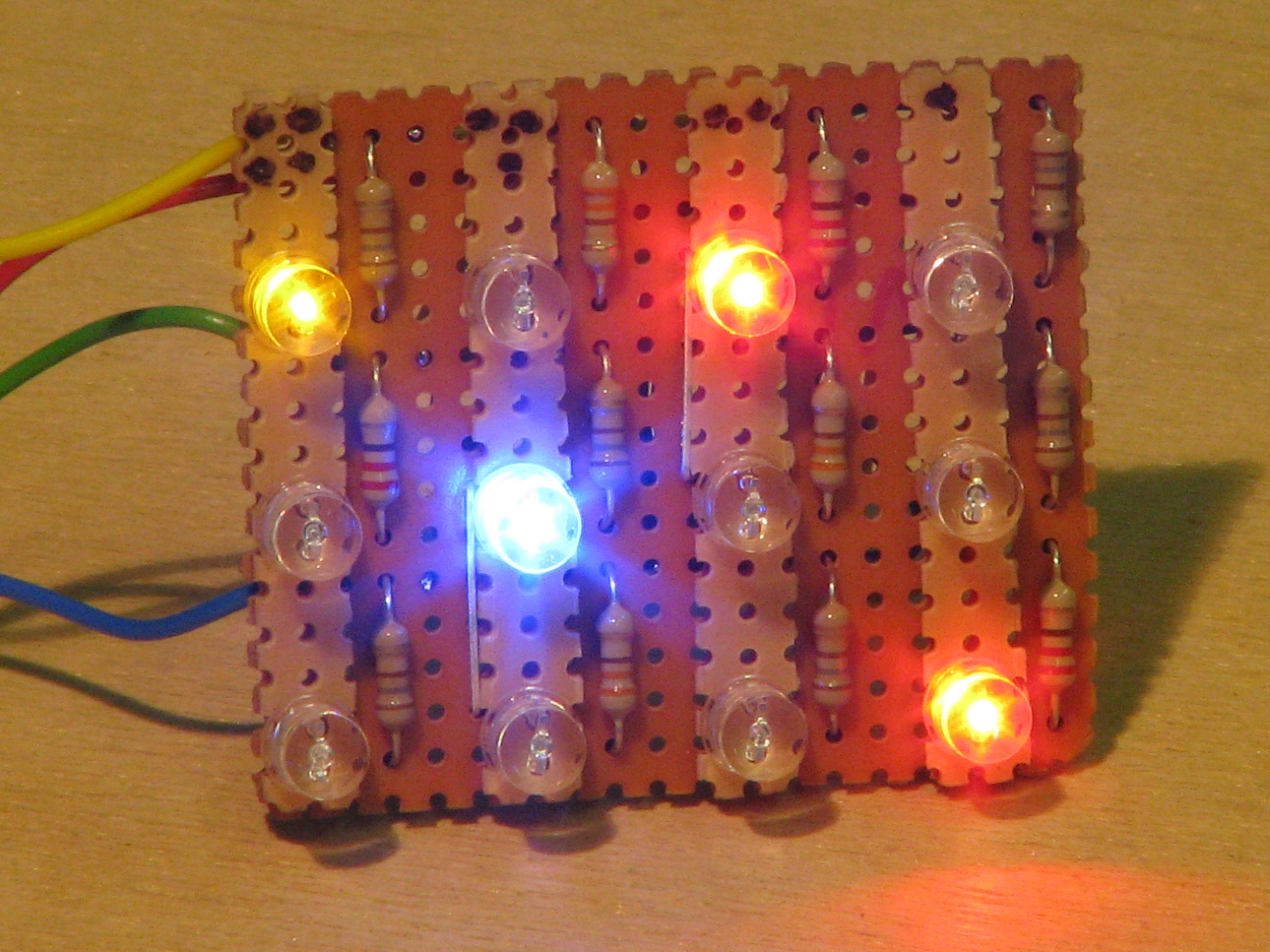 Picture of The LED Array