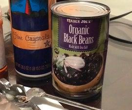 How to Make Black Bean Hummus
