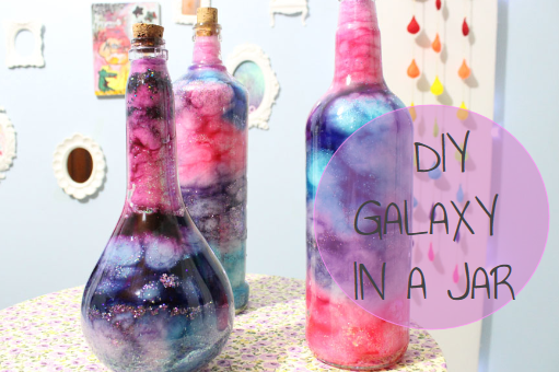 Picture of DIY Tumblr Inspired GALAXY JAR