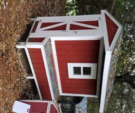4x8 Walk-in Chicken Coop