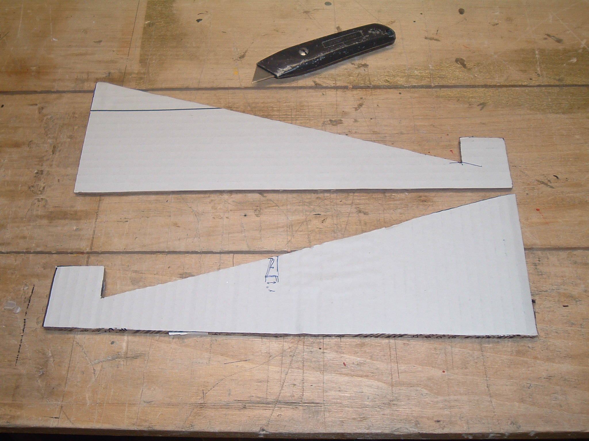 Picture of Measure and Cut Out the Laptop Stand's Legs