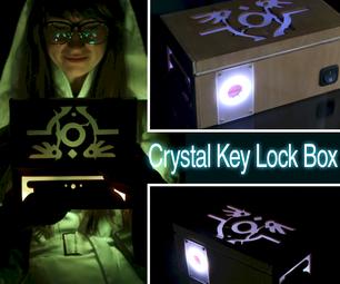 Crystal Key Lock Box