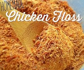 Homemade Rou Song - Chicken Floss (Dried Shredded Chicken)