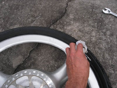 Put the Tire Back On