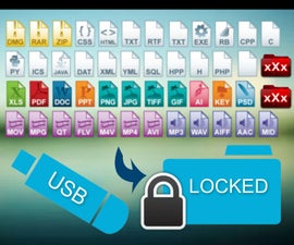 How to protect your files inside your USB drive?