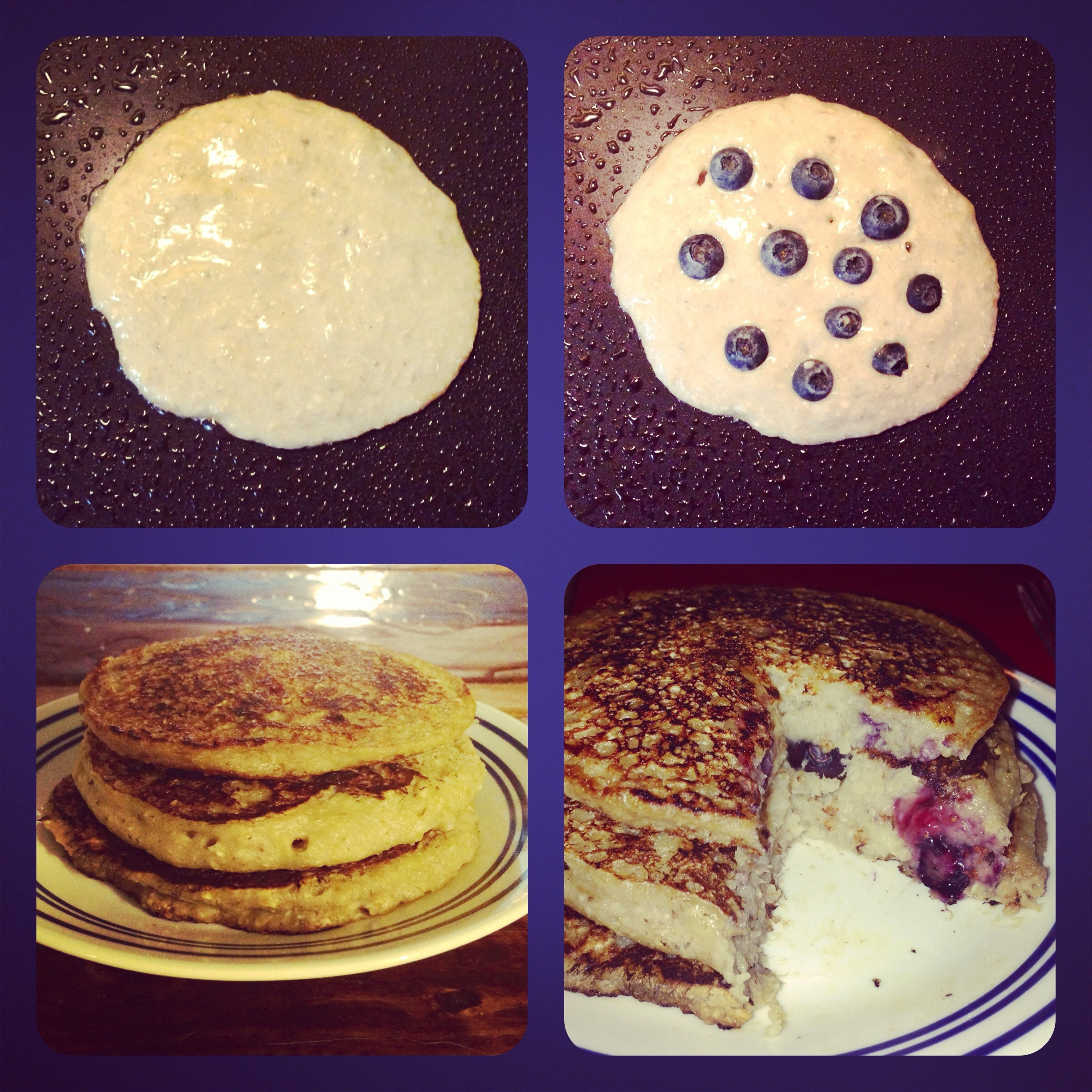 Picture of Gluten-Free & Dairy-Free Blueberry-Banana Pancakes