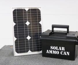 Ammo Can Solar Power Supply