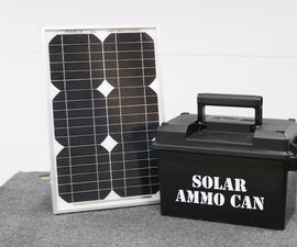 Ammo Can Solar Power Supply