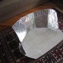 Foldable solar cooker