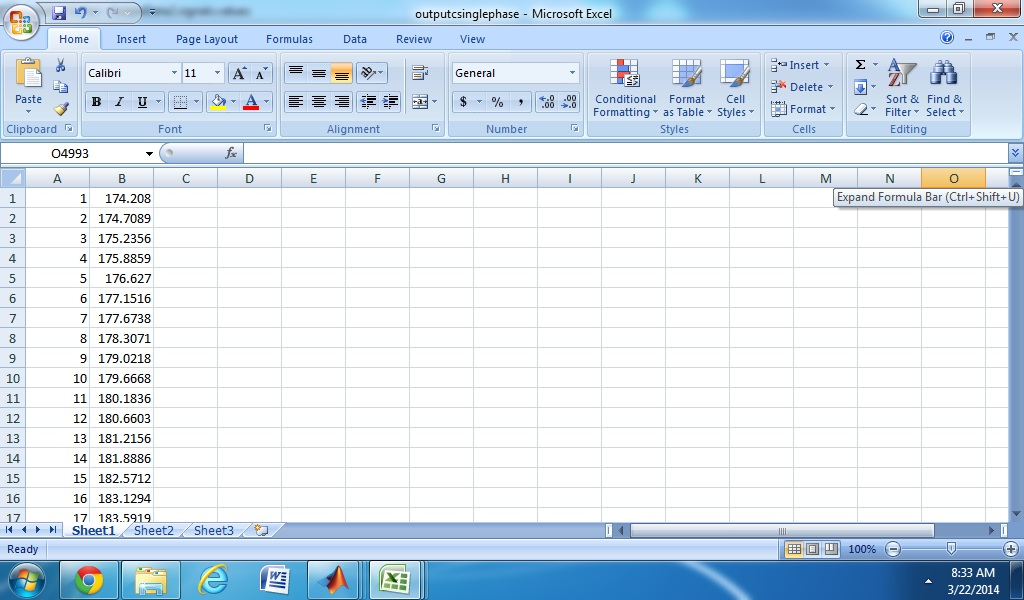 Picture of Save the Values to Excel Sheet