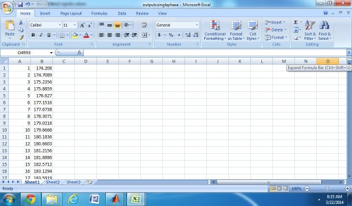 Save the Values to Excel Sheet