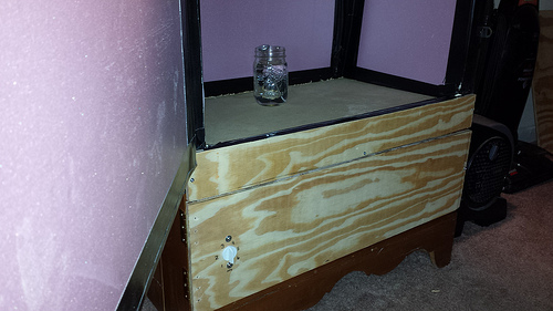 Picture of Insulating the Fermentation Chamber and Installing Doors