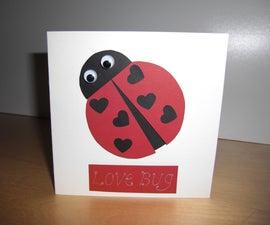 Love Bug card - super cute, super quick