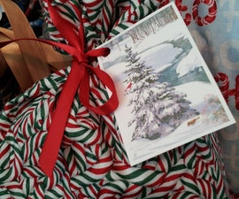 Make Recycled Gift Tags From Old Holiday Cards