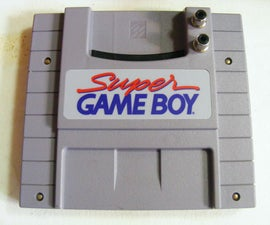 Adding a Pro Sound / Line Level Output to a Super Gameboy