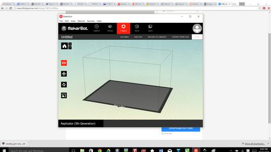 Open Makerbot Software