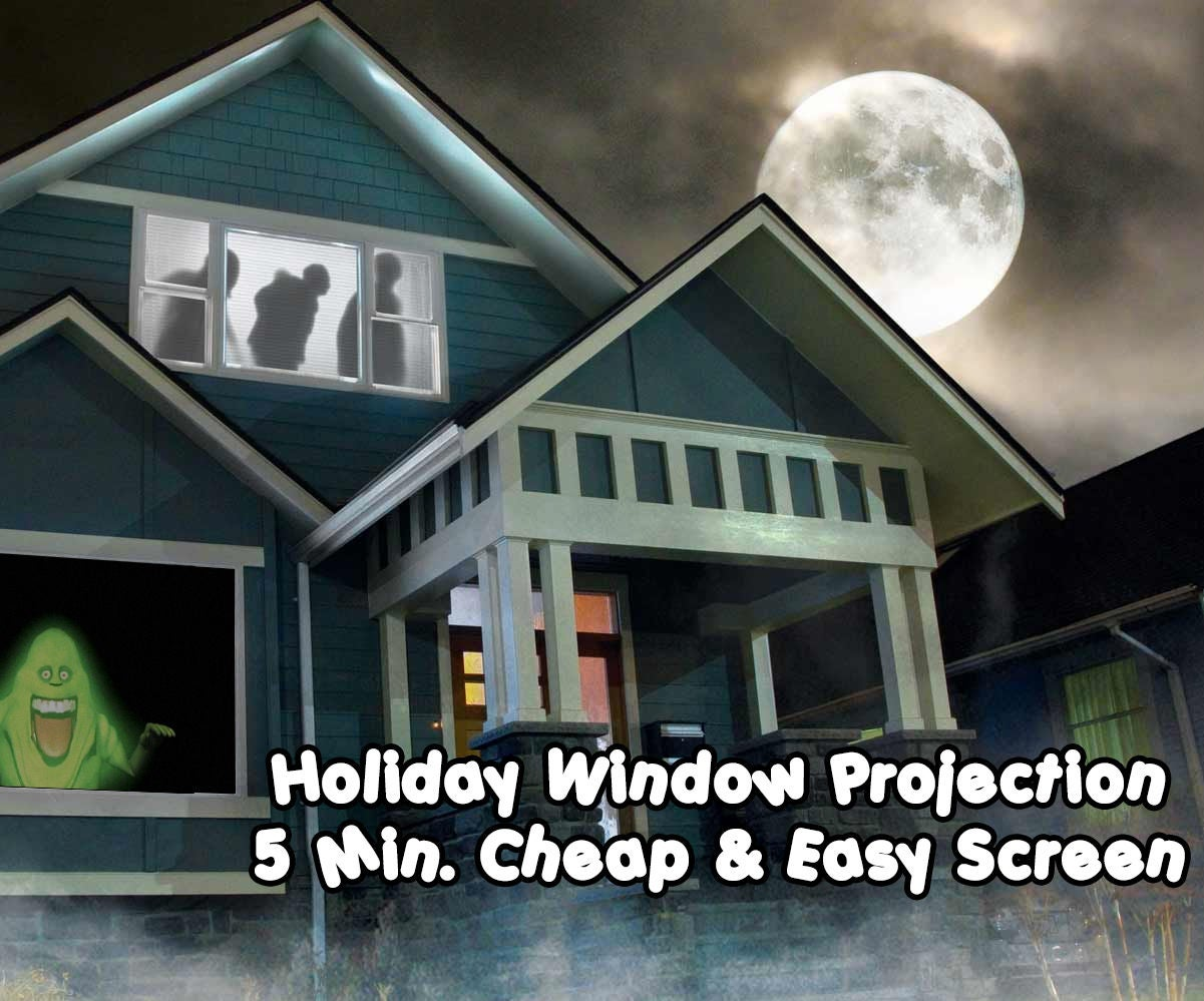 5 minute cheap and easy rear projection screen : 8 steps (with pictures)