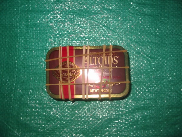 The Altoids Tin Survival Kit