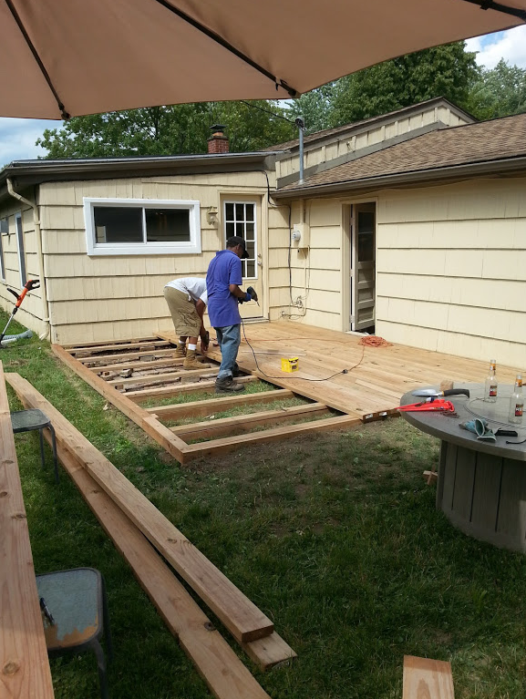Picture of Step 4: Build (deck Boards) Day 2