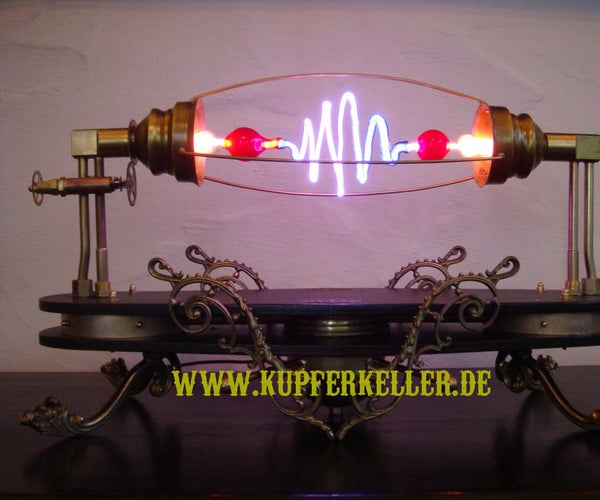 Aetheria Circumducitur- a Steampunk High Voltage Lamp