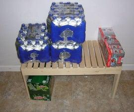 Storage Shelf From One $4 2x4