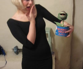 Audrey and Audrey II costume (Little Shop of Horrors)
