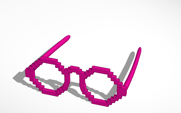 Picture of Minecraft Party Glasses