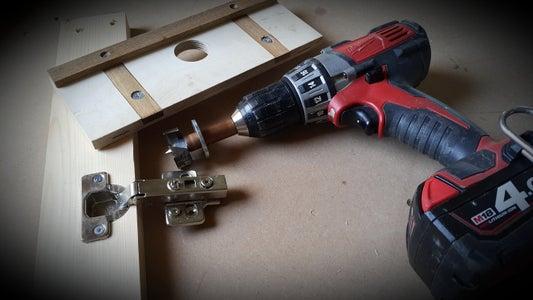 DIY Concealed Hinge Jig